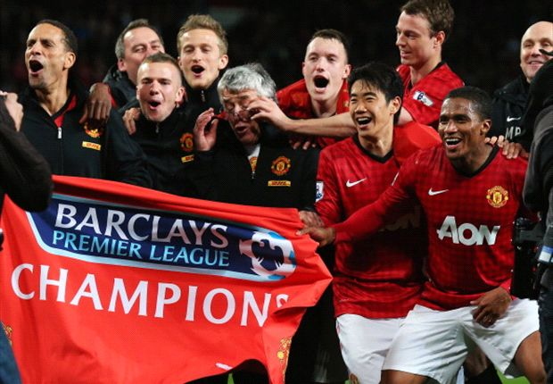 Five key moments from Manchester United's 2012-13 Premier League truimph