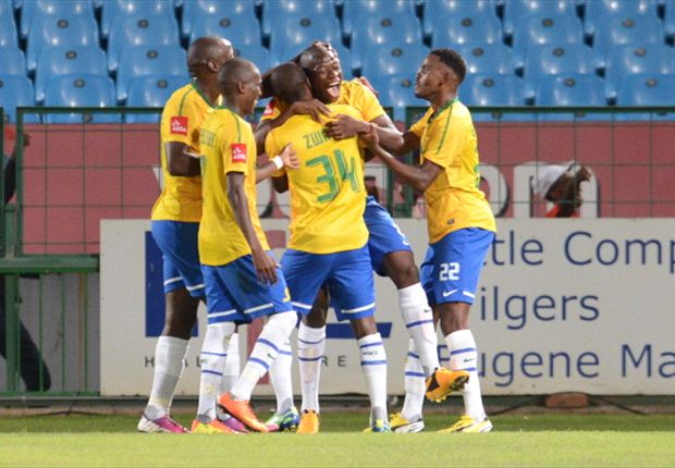 Mamelodi Sundowns 1-0 Mpumalanga Black Aces: Pelembe strike separates Brazilians and Aces