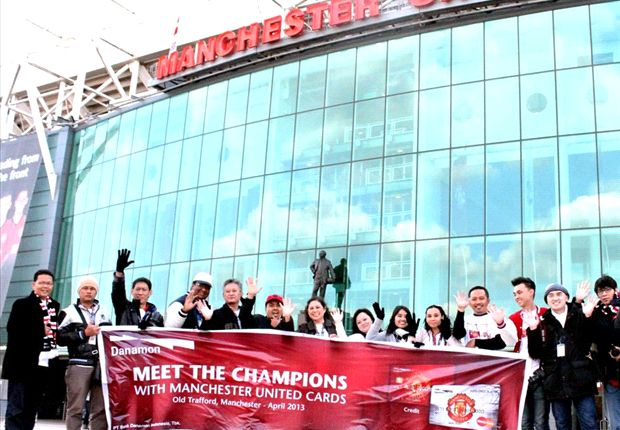 Nasabah Danamon Jadi Saksi Sejarah Manchester United Raih Trofi Liga Primer Ke-20