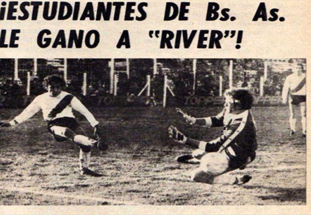35 años después, River se reencuentra con Estudiantes