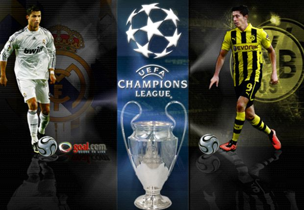 HEAD-TO-HEAD: Real Madrid Masih Di Atas Borussia Dortmund