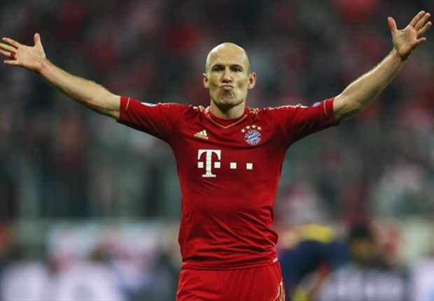 Robben hails Bayern Munich's 'greatest display' against Barcelona