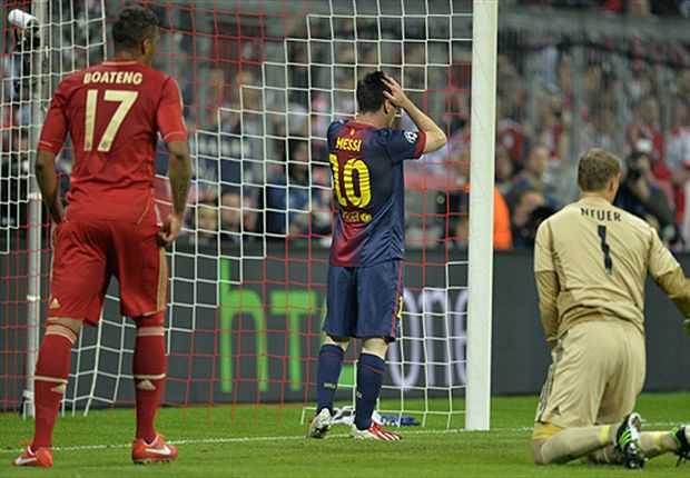 Messi: Bayern defeat a disgrace