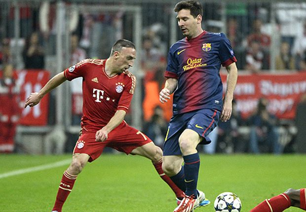 Bayern must win treble to be the best - Ribery