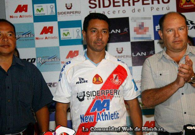 Solano fue presentado en José Gálvez