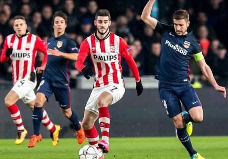 PSV van bravoure naar angst tegen Atléti