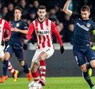 PSV blijft dromen ondanks rood tegen Atlético