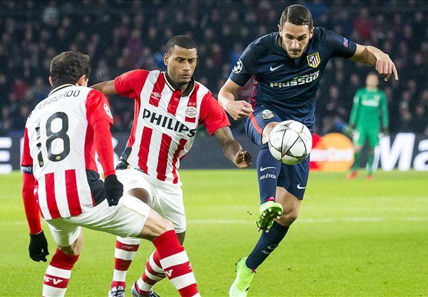 Lợi thế song Atletico vẫn không thắng được PSV