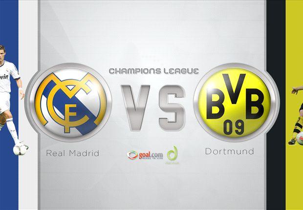 INTIP LAWAN: Borussia Dortmund Vs Real Madrid, Duel Lini Per Lini