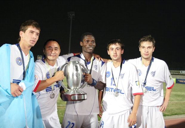 Kyrgyzstan bank hopes on Ghanaian midfielder Tetteh