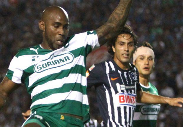 Concacaf Champions League: Santos 0-0 Monterrey | Empate sin goles en la ida entre Rayados y Guerreros