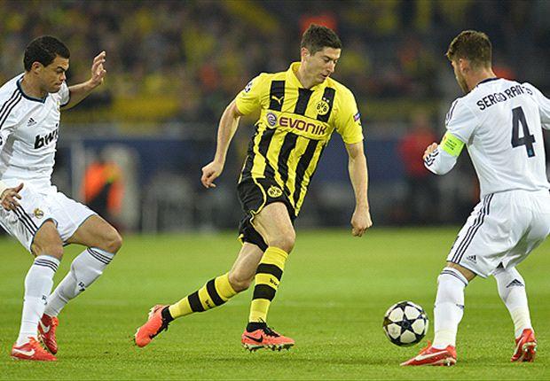 Borussia Dortmund: Robert Lewandowski trifft vierfach und schreibt gegen Real Madrid Geschichte