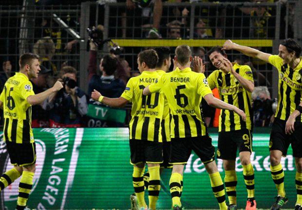 Bayern Munich le ganó 4-0 a Barcelona y Borussia Dortmund (foto), 4-1 al Real Madrid.