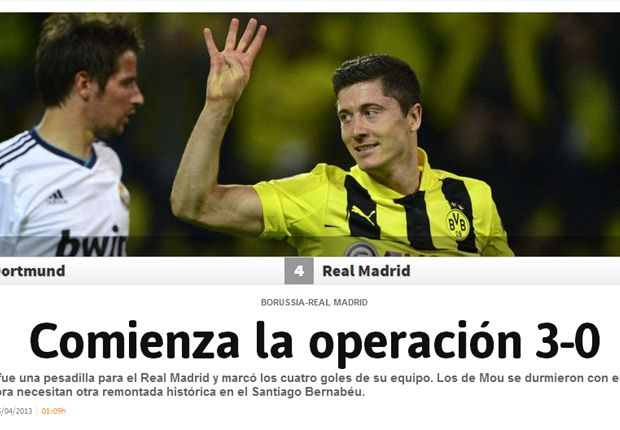 Spaanse media: 'Madrid, een ramp'