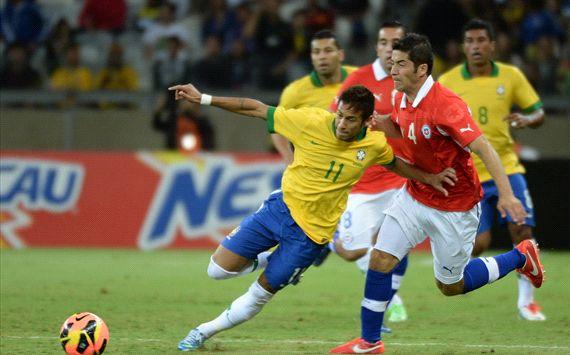 Brasil vs Chile - 24 de abril 2013