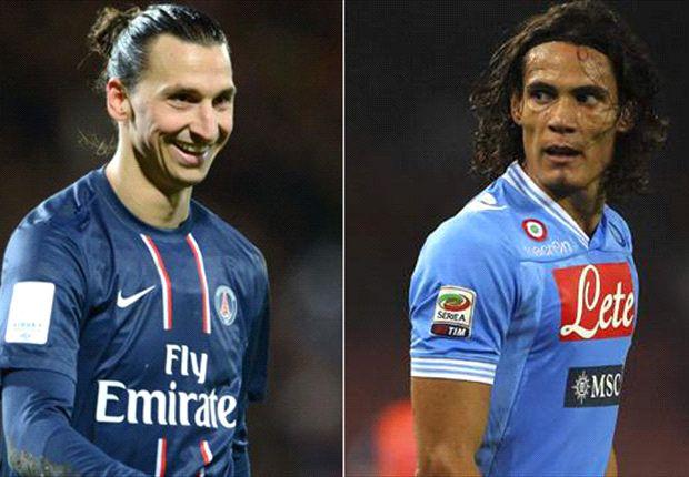 Manchester City: Zlatan Ibrahimovic statt Edinson Cavani?