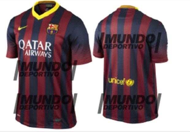 Adelantan el nuevo jersey del FC Barcelona para la campaña 2013-2014