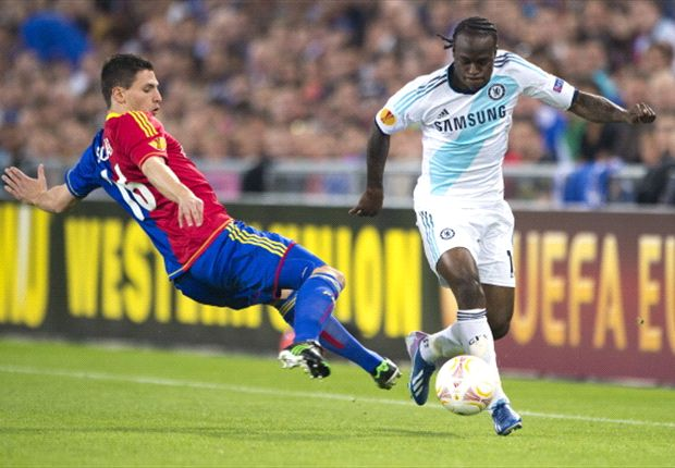 Moses scores to help Chelsea to a 2-1 away win over FC Basle