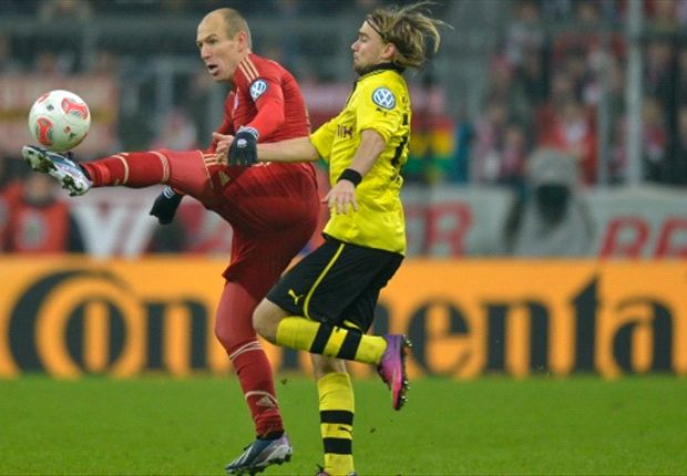 Robben: The pressure is on Dortmund