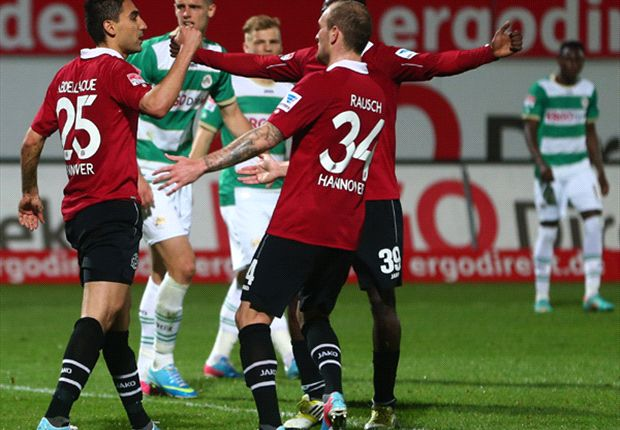 Hannover bezegelt lot Greuther Fürth