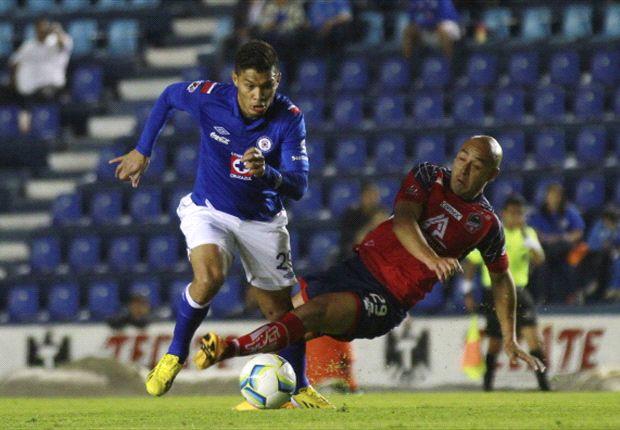 Teófilo Gutiérrez tiene práctica normal con Cruz Azul