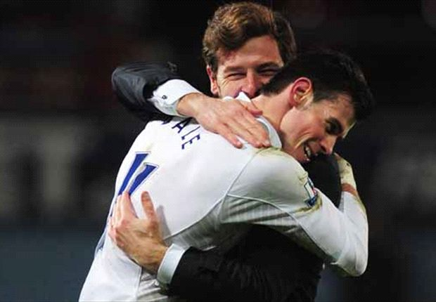 Bale hails Villas-Boas as he hints again at Tottenham stay
