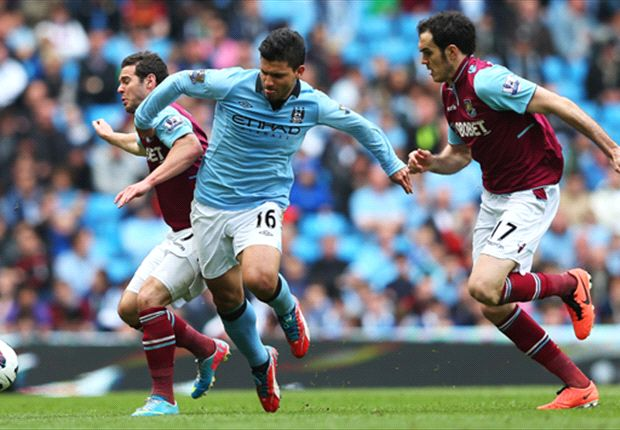 Laporan Pertandingan: Manchester City 2-1 West Ham United