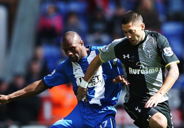REVIEW Liga Primer Inggris: Langkah Tottenham Hotspur Dihambat Wigan Athletic