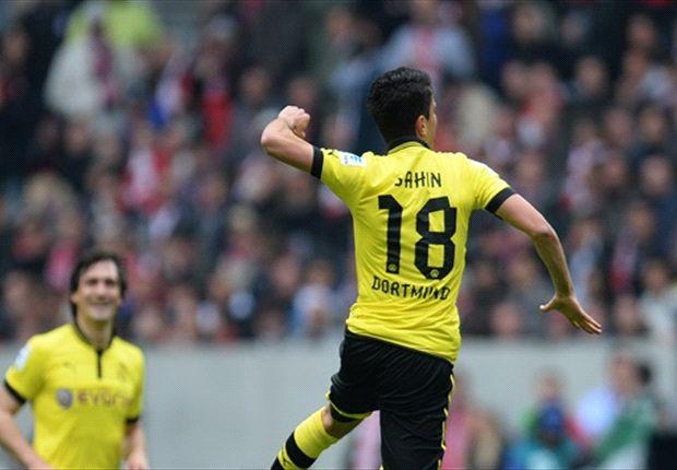 Fortuna Dusseldorf 1-2 Borussia Dortmund: Sahin inspires Schwarzgelben's second-string to victory