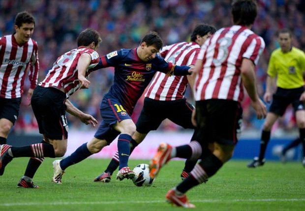 Athletic hizo valer la historia ante el Barcelona y el título deberá esperar
