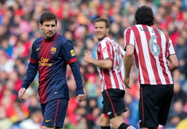 Athletic Bilbao 2-2 Barcelona: Messi magic in vain as Basques deny Blaugrana at the death