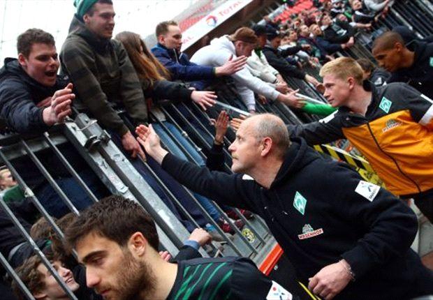 Werder Bremen: Thomas Schaaf bedankt sich bei den Fans