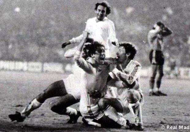 Juanito, Santillana y las remontadas históricas del Real Madrid en Europa, en imágenes