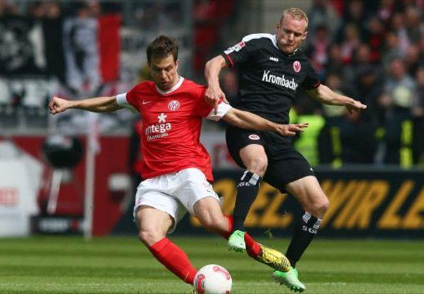 Trostloser Kampf um Europa: Eintracht Frankfurt enttäuscht beim 1. FSV Mainz 05