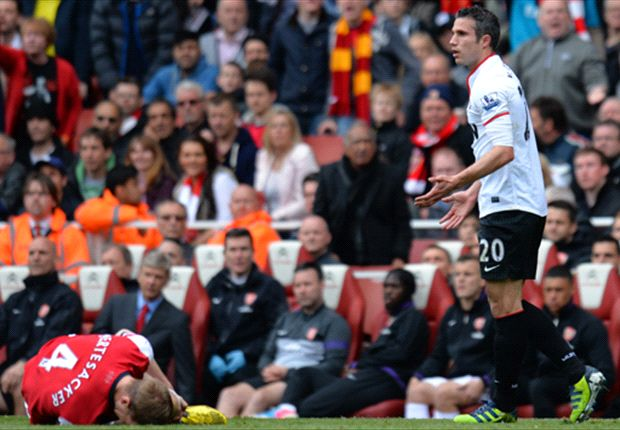 Mock the Weekend: Misunderstood Van Persie still giving his all for Arsenal