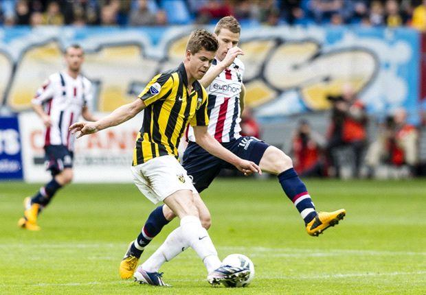 Vitesse zonder inspanning voorbij dolend Willem II