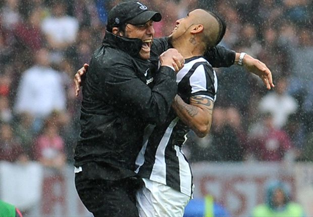 Vidal has grown a lot since joining Juventus, says Conte