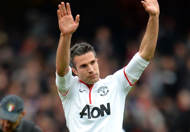 Van Persie 'floating on a cloud' after securing Premier League title