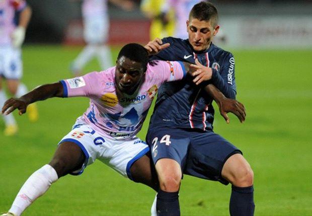 Evian 0-1 Paris Saint-Germain: Pastore edges title ever closer for Ancelotti's side