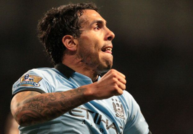 TEAM NEWS: Tevez and Dzeko start as Manchester City make eight changes for West Brom clash