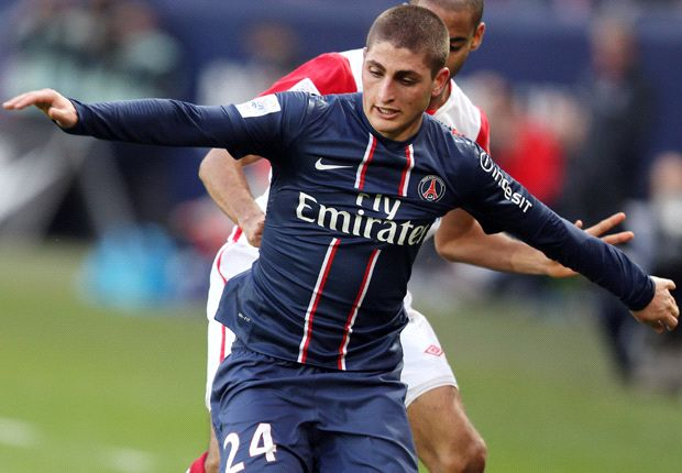 Marco Veratti has lit up Ligue 1 with some dazzling displays for PSG but he won't return to Italy anytime soon