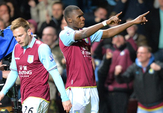 I am very happy at Aston Villa, says Benteke