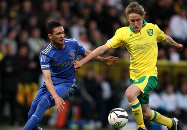 Norwich 1-0 Chelsea: Late McGeehan penalty puts Canaries in driving seat after FA Youth Cup final first leg