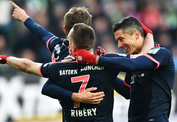 Wolfsburg 0-2 Bayern Munich: Coman and Lewandowski seal comfortable victory for Bavarians