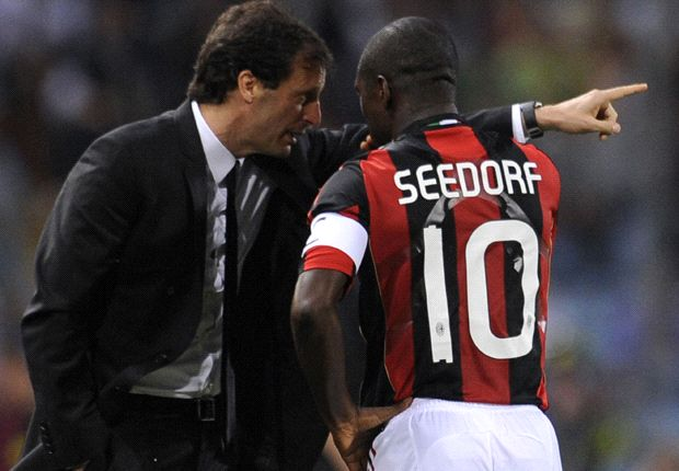 My relationship with Allegri 'wasn't the best', claims Seedorf