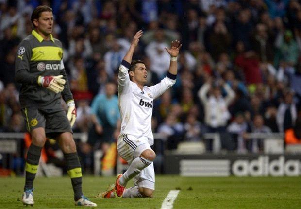 Menang, Real Madrid Tetap Masuk Kotak
