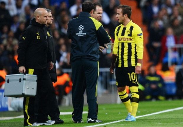 Dortmund hopeful Gotze will be fit for Champions League final