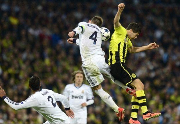 Real wordt te laat wakker tegen Dortmund