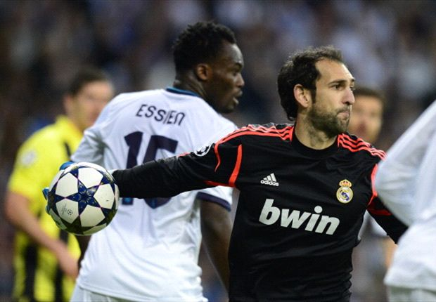 Diego Lopez: Real Madrid missed a bit of luck