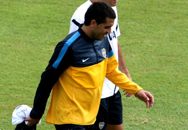 Juan Román Riquelme le bajó el tono a la polémica con Ramón Díaz.